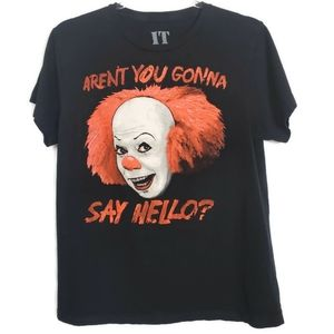 IT graphic Tshirt. Scary clown shirt! Size small